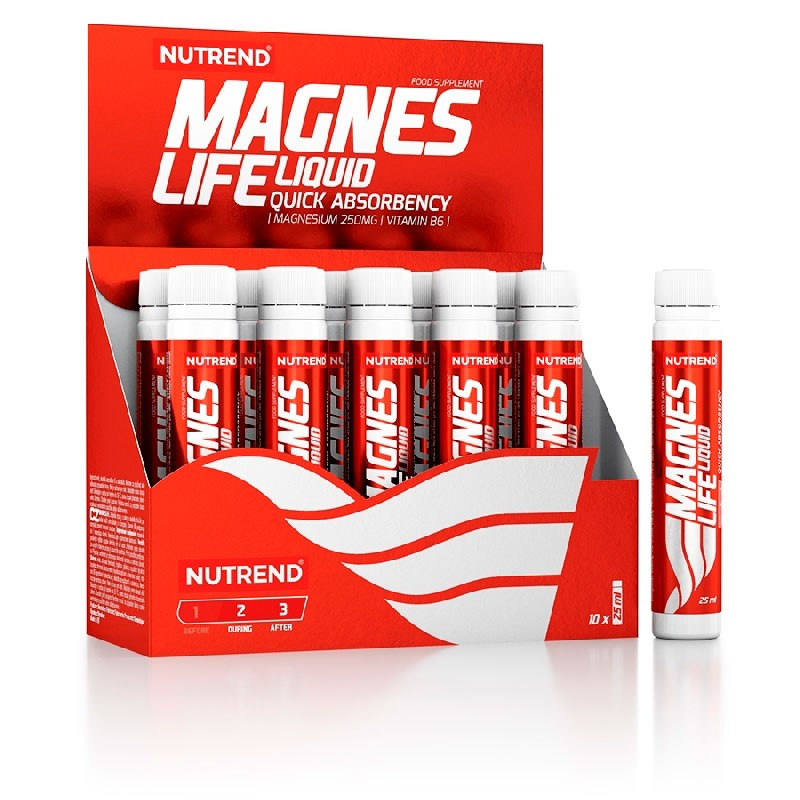 Nova Imagem dos Shots de Magnésio Magneslife - Perfeito para Desporto