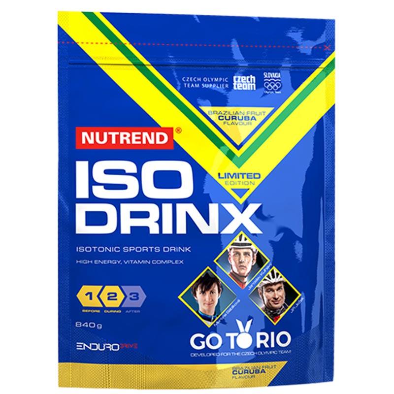 Nova Imagem - Bebida Energética Isodrinx em saco com 840g - Sabor Laranja