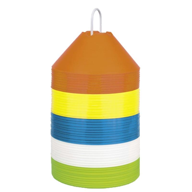 Cones pequenos coloridos