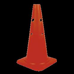 Cones com buracos para colocar barreira - IMBILE