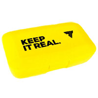 Caixa para Comprimidos Keep it Real Amarela