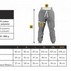 Tabela de Medidas Calças Trec Wear