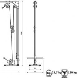 Especificações da Estação de Cabos MH-W103