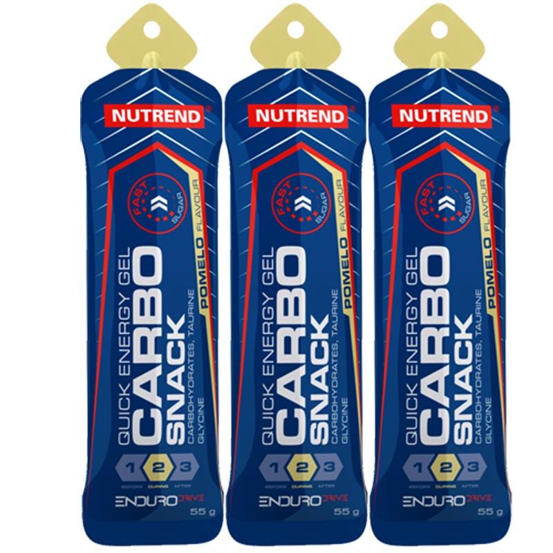 3 Saquetas de CarboSnack Gel 55g