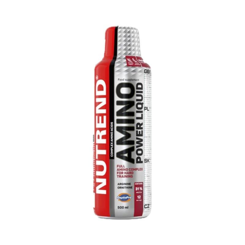 Nova Imagem do Amino Power liquido da Nutrend