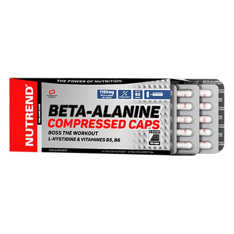 Super dosagem de Beta-Alanina em cada cápsula comprimida