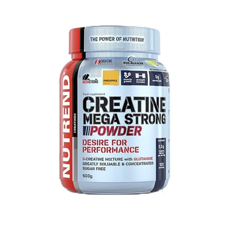 Fórmula de creatinas com L-glutamina em pó - 500g