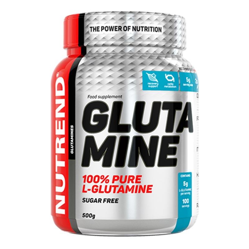 Nova Imagem da Glutamina pura em pó da Nutrend