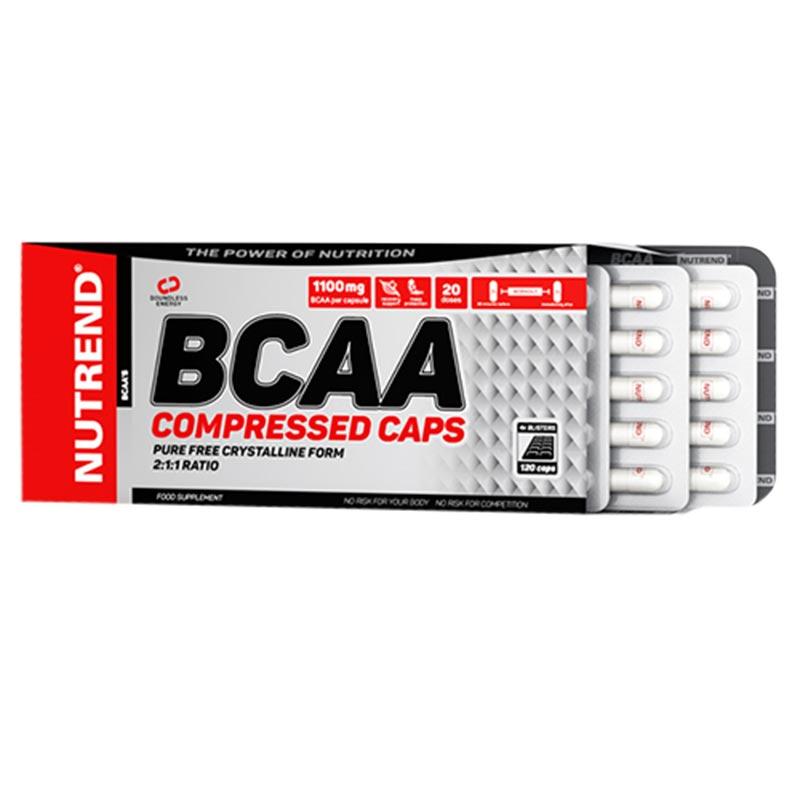 BCAA Compresses caps - 120caps