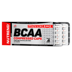 BCAA Compressed caps - 120caps
