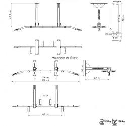 Especificações Técnicas da Barra de Elevações MH-D002