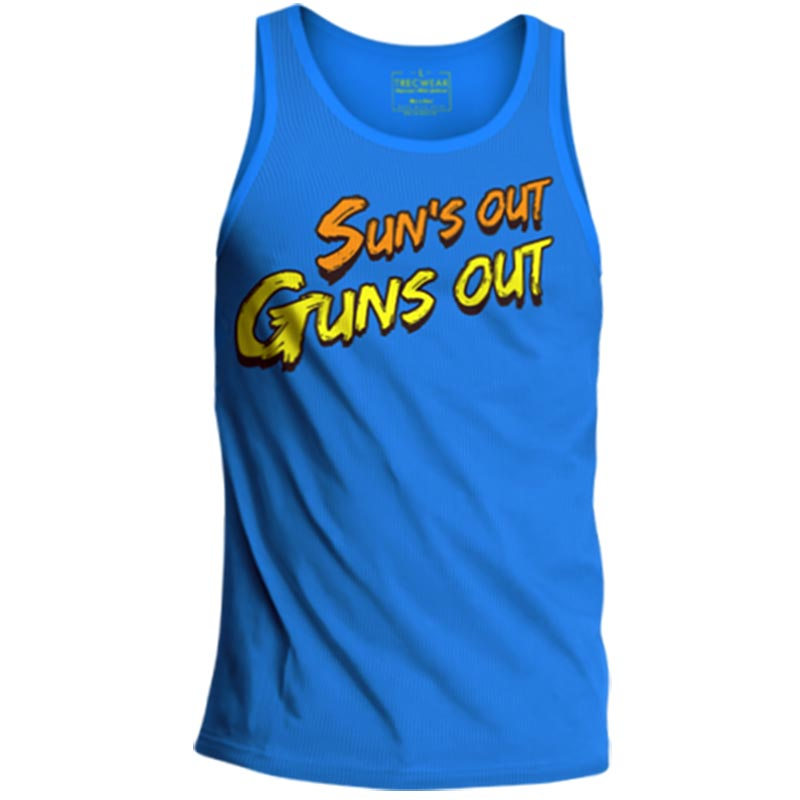 Sun out Guns out