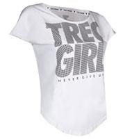 Tshirt  TrecGirl - branca