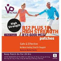 Vitamina B12 - Adesivos extra fortes