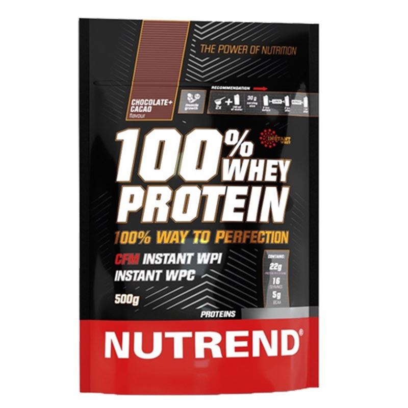 Embalagem económica de 500g da 100% Whey Protein
