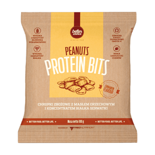 Bocados de proteina Bits da Trec Nutrition
