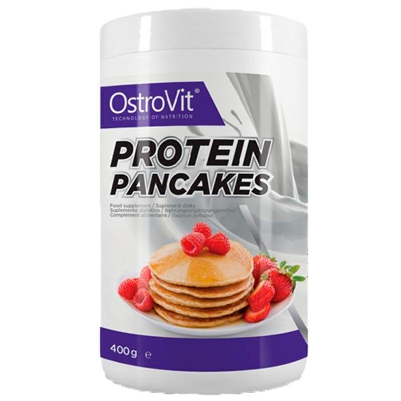 Panquecas de proteína da ostrovit com 400g