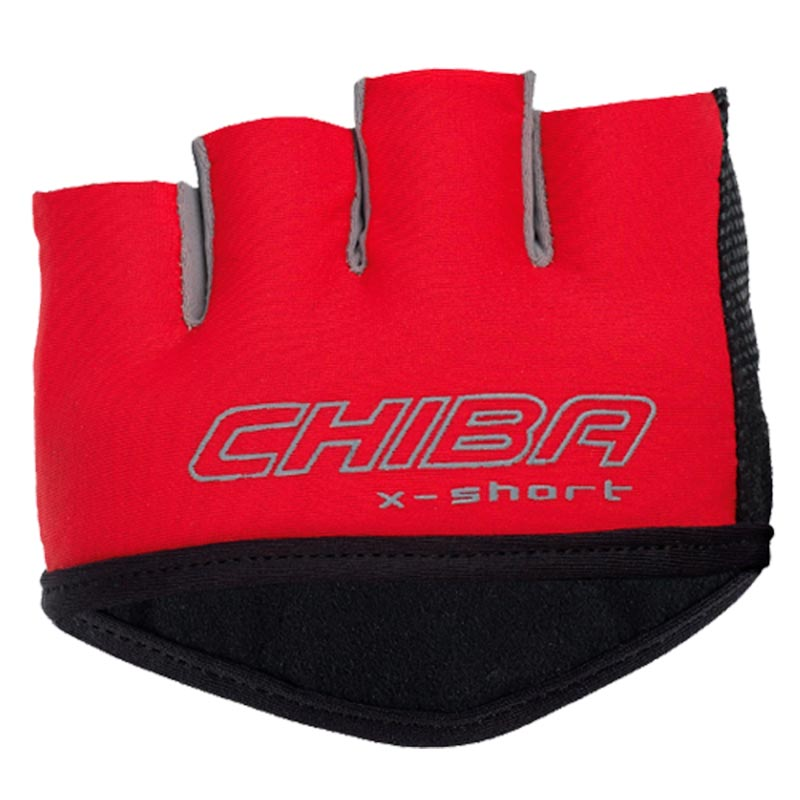 Luvas Curtas X-Short da Chiba Vermelha