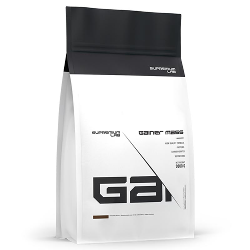 Gainer Mass da Supremium Lab com 3kgs