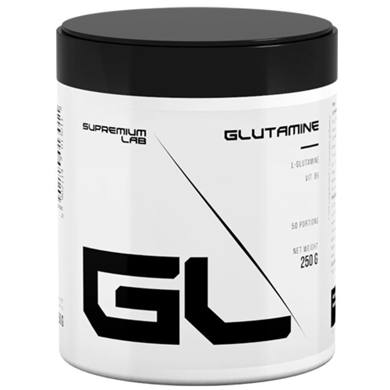100% L-Glutamina - 250g - Supremium Lab