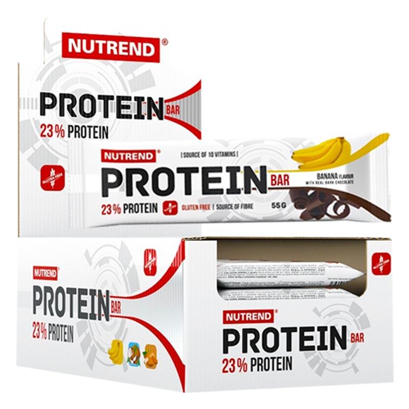 Barra de Proteína - Proteín Bar da Nutrend 24x55g
