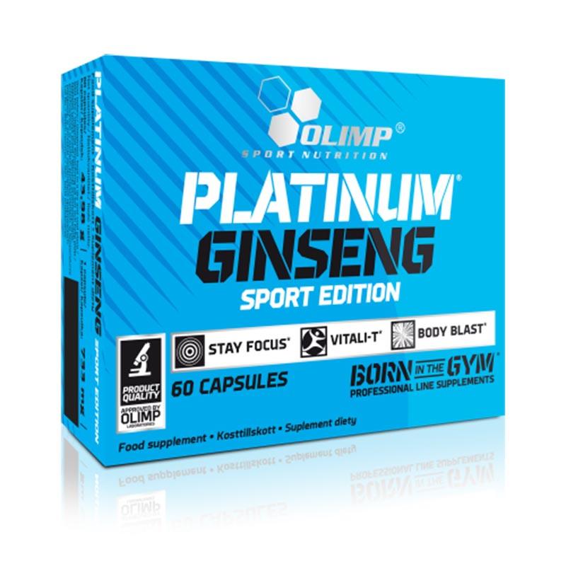 Ginseng Platinum Edição Desporto Mega Dose por Cápsula 550mg