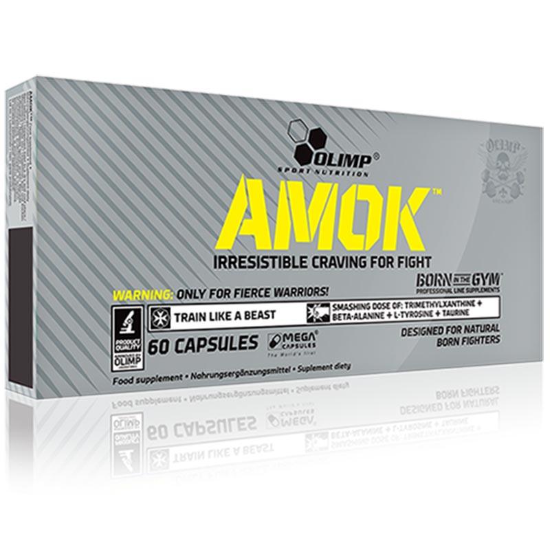 Pré-treino Amok especial para Desportos de Combate