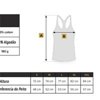 Medidas da Camisola Alças All You Need