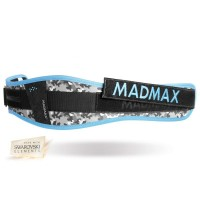 Cinto de Musculação para Mulher - Modelo Camuflado Azul com Swarovski