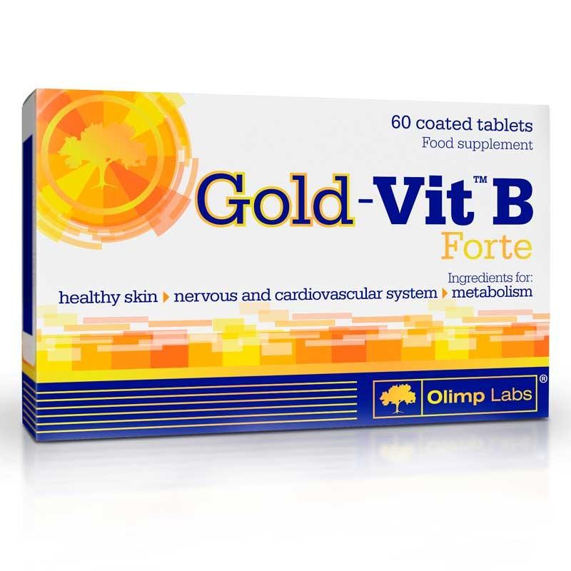 Gold-Vit B Forte - 60 comprimidos Revestidos