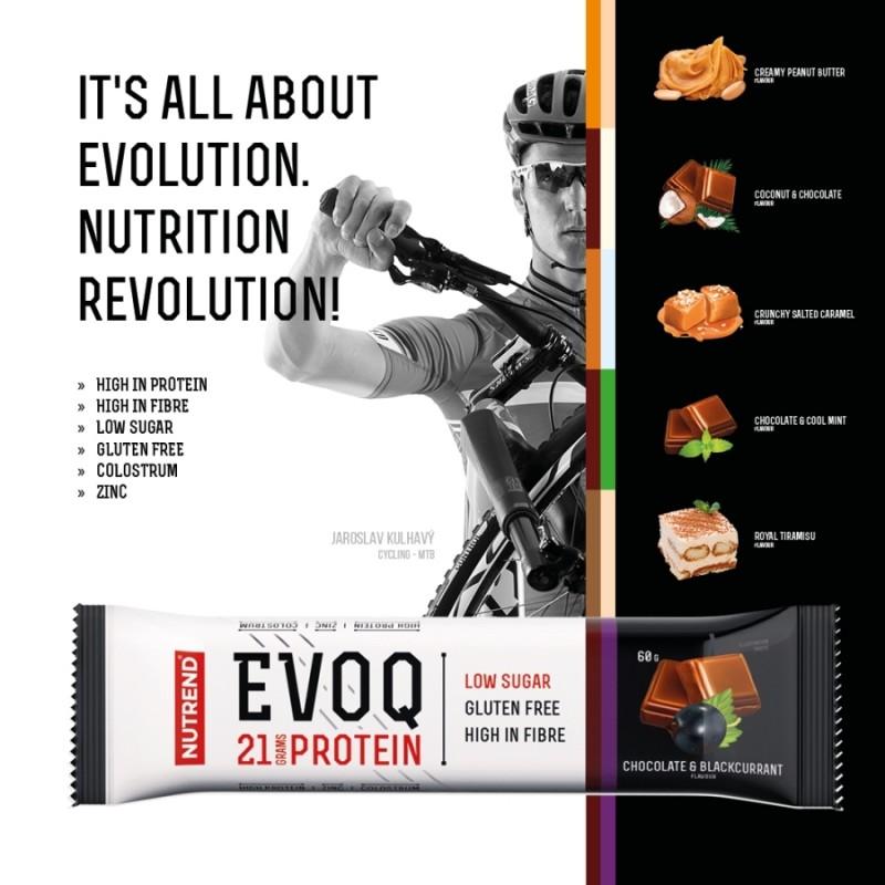 Barra de proteína EVOQ - Extremamente Saborosas