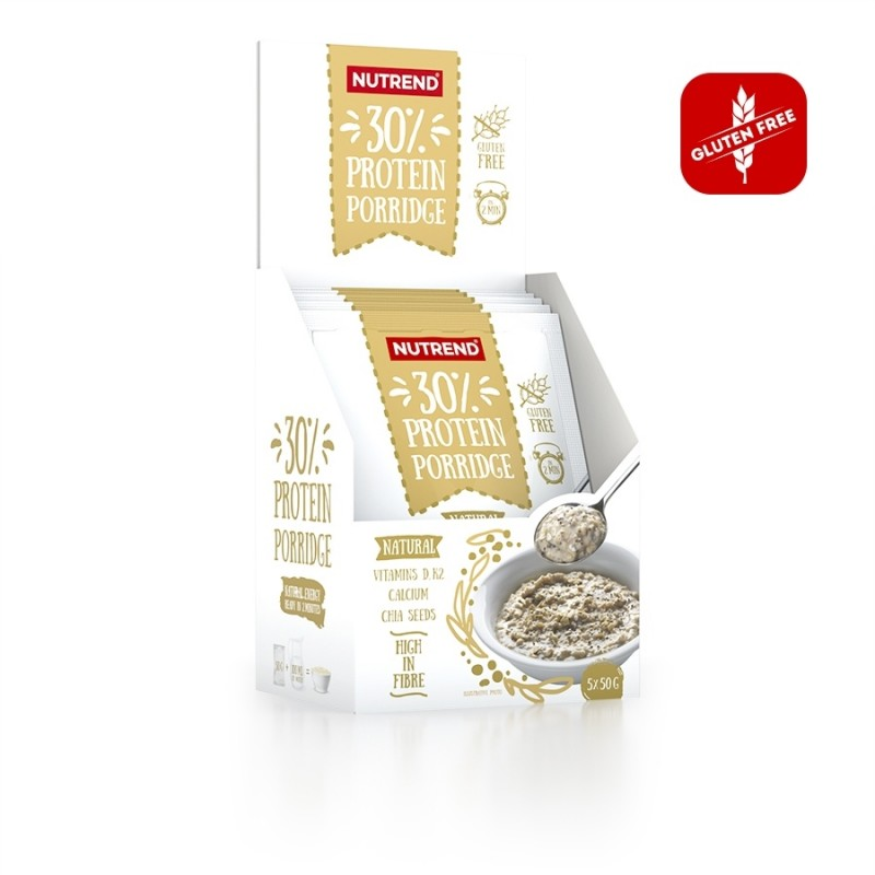 Sabor Natural do Protein Porridge