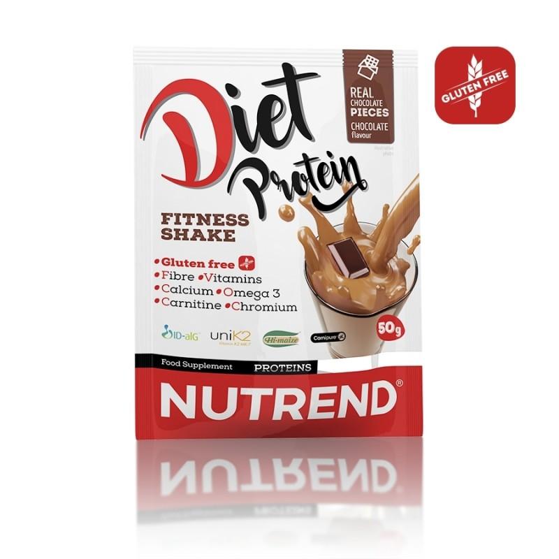 Saqueta de 50g da Diet Protein - Sabor Chocolate