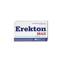 Erekton Max - 8 comprimidos