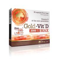 Gold-Vitamina D MAX - 30caps