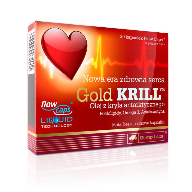 Óleo Gold de Krill - 30 dradeias Flow Caps