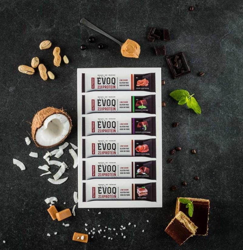 Caixa com todos os sabores das Super Saborosas EVOQ
