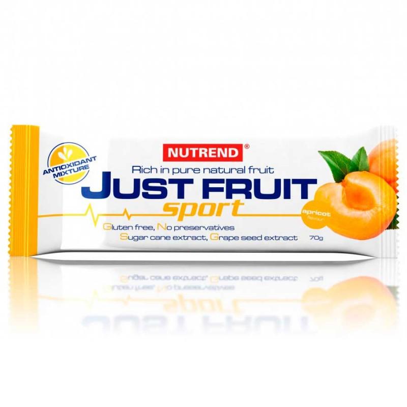 Barra Just Fruit 70g com sabor a Pêssego Alperce (Albricoque)