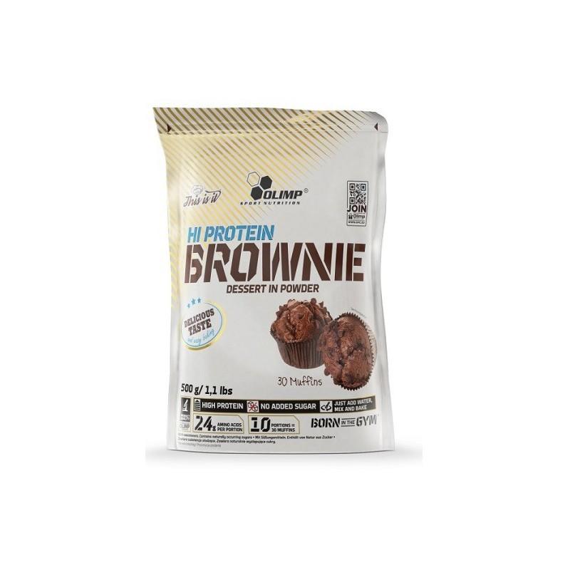 Sobremesa de Proteína Brownie