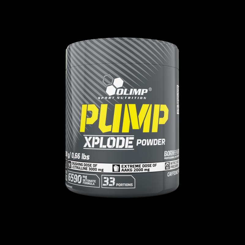 Pré-treino Pump Xplode sem Estimulantes
