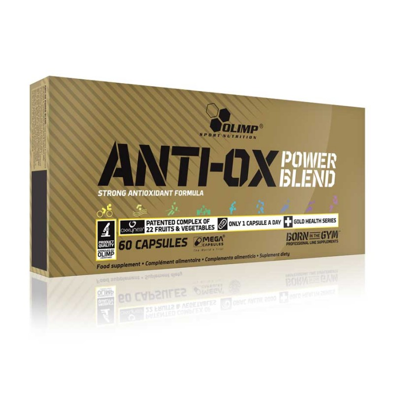Fórmula de Antioxidantes Naturais - 60 caps