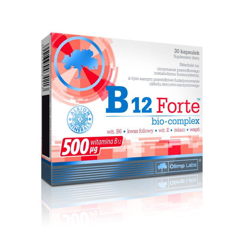 Multivitamina B12 Forte com Ferro e ácido fólico