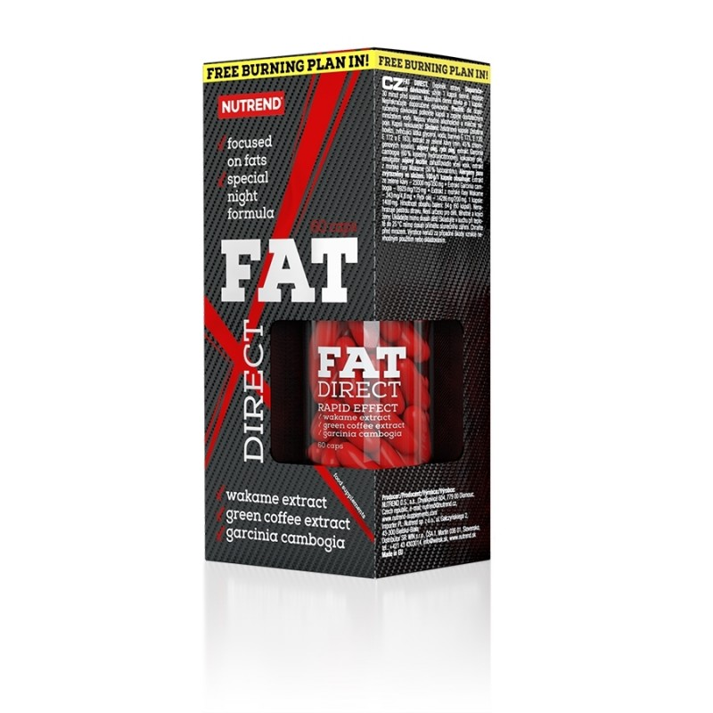Fat Direct Queima Gorduras durante o Sono - Drageias Liquidas - 60 Doses