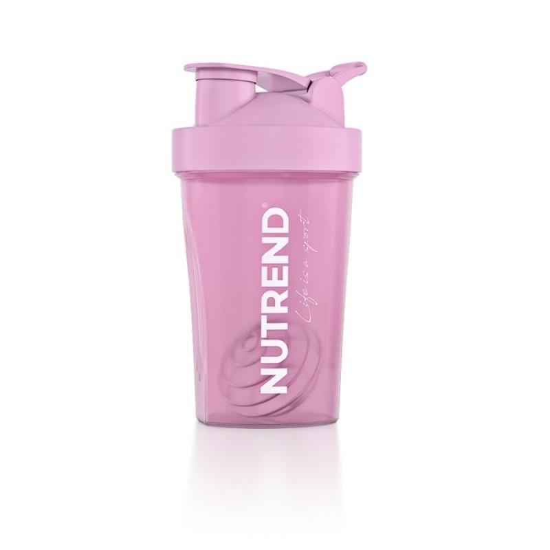 Shaker perfeito da Nutrend Rosa com 400ml