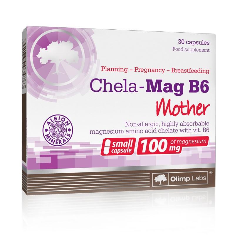 Magnésio Quelatos B6 para a Mãe - Fórmula Hipo-Alergénica