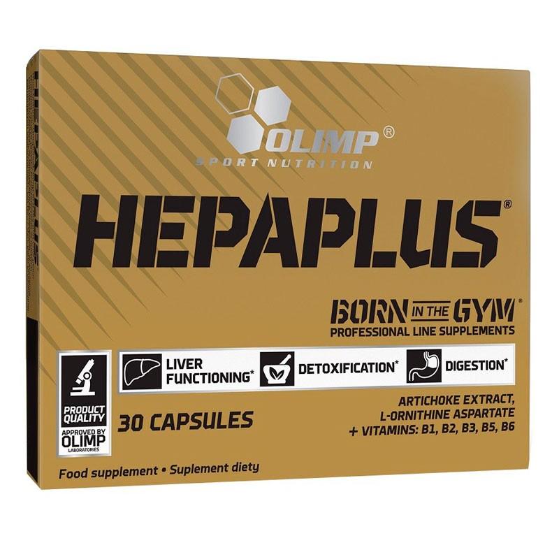 Fórmula para Detox do Figado - Hepaplus Sport 30caps