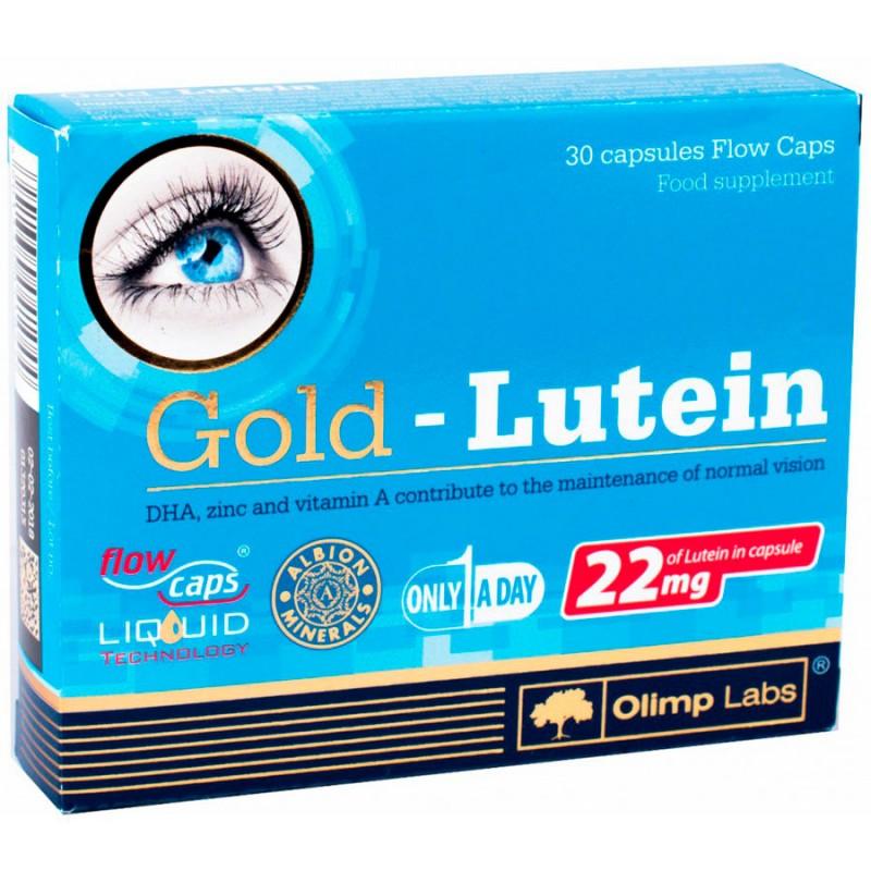 Luteína Gold em Flow caps