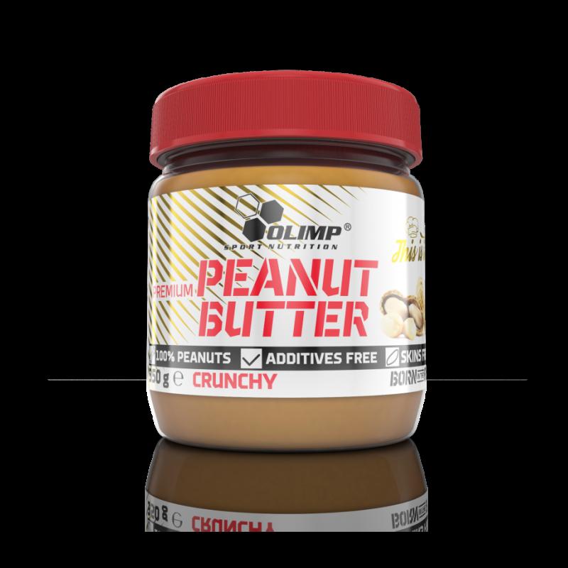 Manteiga de Amendoim Premium - Embalagem de 350g Crunchy