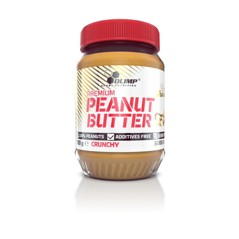 Manteiga de Amendoim Crunch Premium em embalagem de 700g