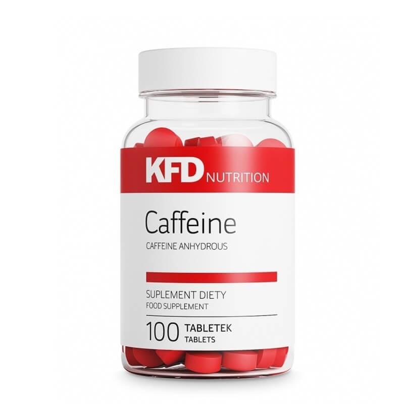 100 comprimidos de cafeína pura
